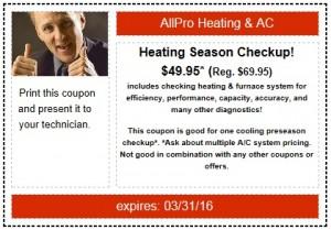 Heating Preseason Special